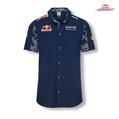 Herren Hemd Team 2016 Infiniti Red Bull Racing (S)