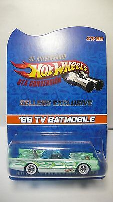 2013 Hot Wheels Mexico 6th Convention Sellers Exclusive '66 TV Batmobile 27/50
