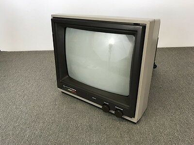 Commodore 1802 Monitor Tested/Working