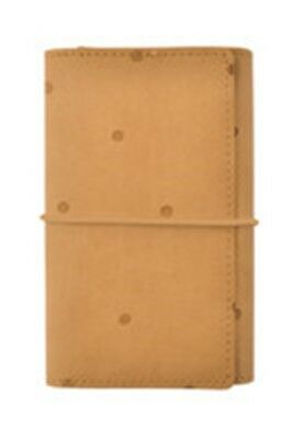 Kaisercraft - Planner - 12.3cm x 19cm Tan with Embossed Spots Small  (SA058)