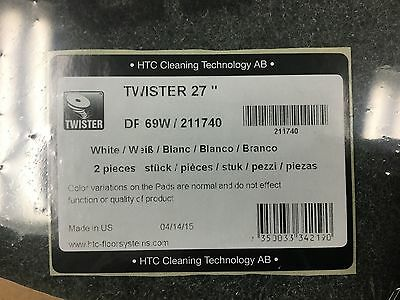 "27"" Twister White 800 Grit Diamond Cleaning System"