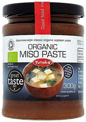 Yutaka Organic Miso Paste for miso soup 300 g  Pack of 3