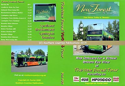 Vol.192 The New Forest Tour Your Driver is Dennis Virtual Ride Bus Transport DVD