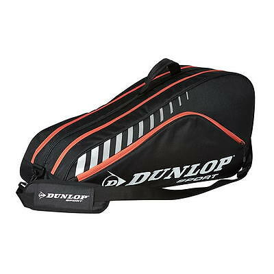 Dunlop Club  6 Pack Tennis Racquet Bag -  Red/black New