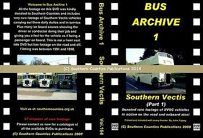 Vol.164 Southern Vectis Donated Archive Footage (Part 1) Bus Transport DVD