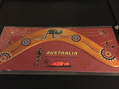 Australian Returning Boomerang New in Package Throwing Instructions Souvenir