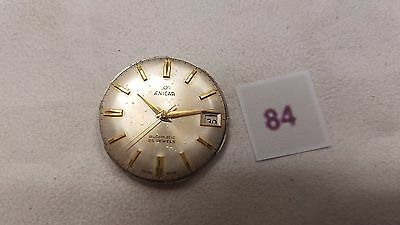 Enicar Wrist Watch Movement 27 Jeweks For Parts-Repairs