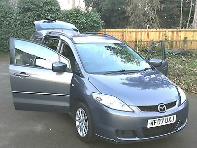 1 PREVIOUS OWNER MAZDA5 2.0 D TS2 5dr 7 SEATS 2007 FAMILY CAR New 12 months MOT