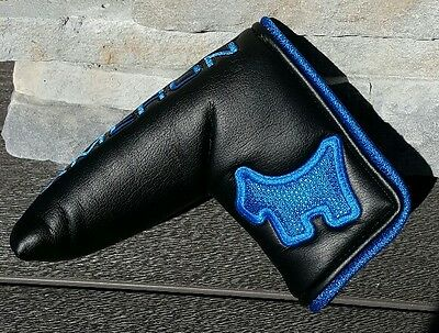 Scotty Cameron 2016 Turbo Blue Scotty Dog Putter Cover Limited Release