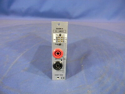 Dewetron DAQN-V-B Isolated Voltage Amplifier Module