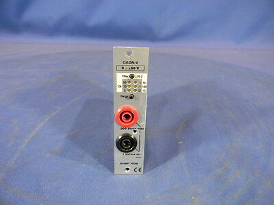 Dewetron DAQP-V-B Isolated Voltage Amplifier Module 30 Day Warranty