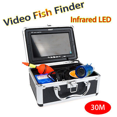 30m Professional Fish Finder Tool Underwater Ice Fishing Infrared 1000TVL Camera