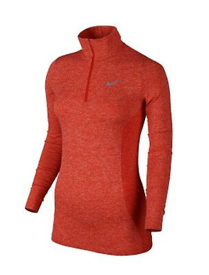 Nike Women's Dri-Fit Knit 1/2 Zip Top - Small - New With Tags