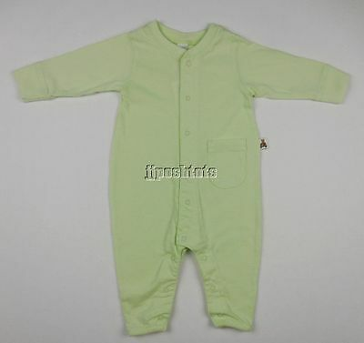 NEW Baby Gap Romper Outfit Mint Green Unisex Boy Girl 3 6 Mo NWT