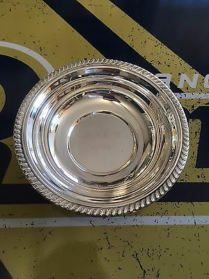 F.B. Rogers Silver Trading Co Bowl Candy Dish Trade Mark 1883 6.5 inches VTG AG