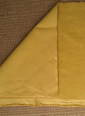 Schulte Mohair short pile gold perfect for miniature bear projects 49x34cm