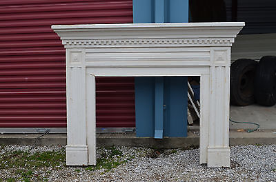 Beautiful antique Victorian fireplace surround / mantel
