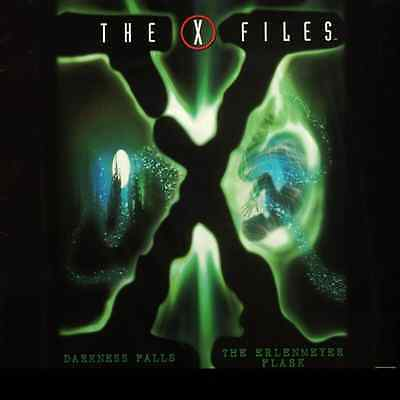 X-FILES (THE) DARKNESS FALLS / ERLEMEYER FLASK CC NTSC LASERDISC David Duchovny
