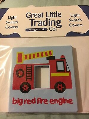 childrens fire engine light switch covers