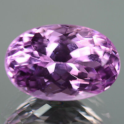 5.93 Ctw Attractive Luster Clean Gem Stunning Color Natural Kunzite