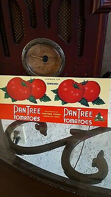 Lot Of 10 Vintage New Old Stock Tomato Canned Goods Labels