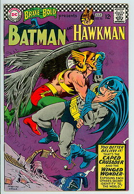 Brave and the Bold #70 D.C. 1967 VF Batman and Hawkman