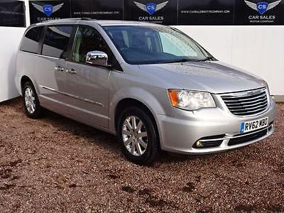 2012 62 Chrysler Grand Voyager 2.8 Crd Limited 5D Auto 161 Bhp Diesel