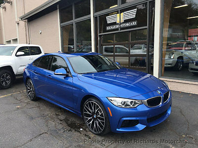 "2016 BMW 4-Series 435i xDrive Gran Coupe 4dr M Sport Package  Cold Weather Package  20"" Wheels  Navigation  Back Up Camera"