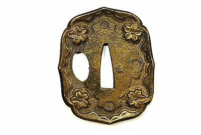 Repro  Japanese Army TSUBA for Gunto Sword Fittings from Japan #164