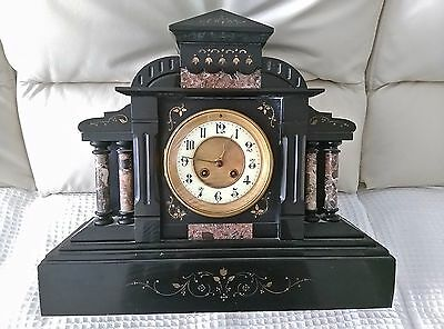 French Marble Mantle Clock $500.00 ONO