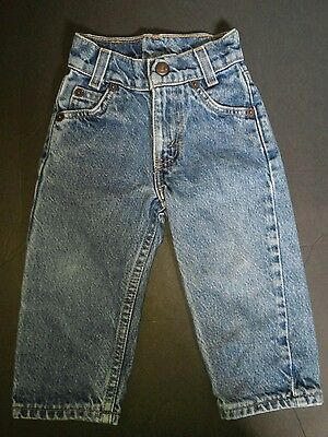 Levi Strauss Five Pocket Jeans Infant Size 2 Slim, Rugged, Durable