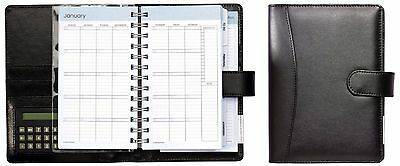 PlanAhead Personal Weekly/Monthly Undated Organizer with Calculator 6in x 7.63in