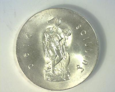 Ireland 1966 Silver 10 Shilling Easter .486 Asw Km18 Uncirculated ~Ri-386120-Am