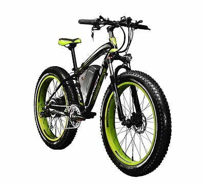 1000W 48V Electric Bike eBike Snow Cruiser Bicycle 7 Greas Cycling 4.0 Fat Tire