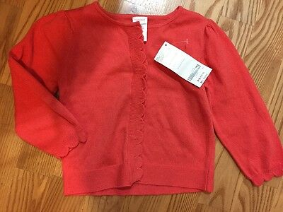 Nwt Gymboree Scallop Sweater Size 18-24 Months