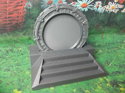 E22 STARGATE SG-1 Set Of 4 Coasters with Holder (3D Printed?)