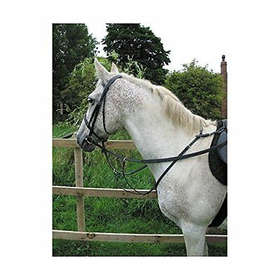 Hy Hunting Breastplate High Quality Leather For Horses Adjustable Neck Strap