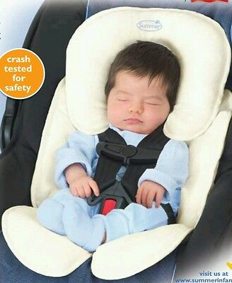 Baby Summer Infant Snuzzler Infant Support for Car Seats and Strollers,