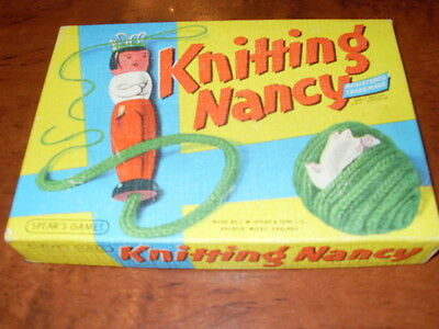 Knitting Nancy. Vintage Toy. 50 years old. Excellent Condition