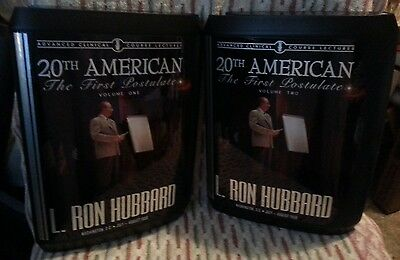L Ron Hubbard 20th American ACC Lectures Vol. 1 & 2 CD's Scientology THE FIRST P