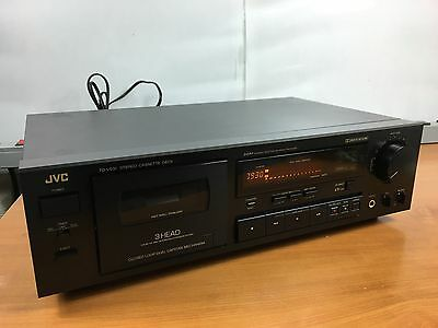 JVC TD-V531 Cassette Deck Player 3 Head HX Pro  D.D.R.P SERVICED & FULLY TESTED.