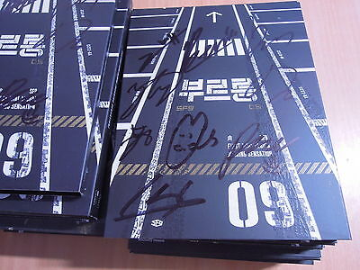 SF9 - Burnning Sensation (1st Mini Promo) with Autographed (Signed)