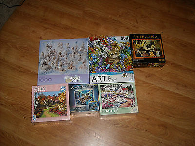 Puzzle lot new and rare