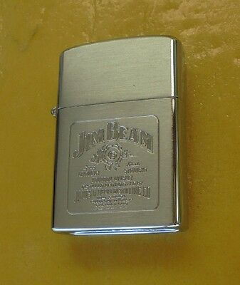 Early Jim Beam Lighter In Original Case Made In Japan Never Used