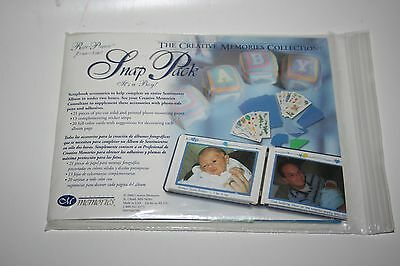Creative Memories It's a Boy Snap Pack 5x7 to complete Sentiments Album BNIP