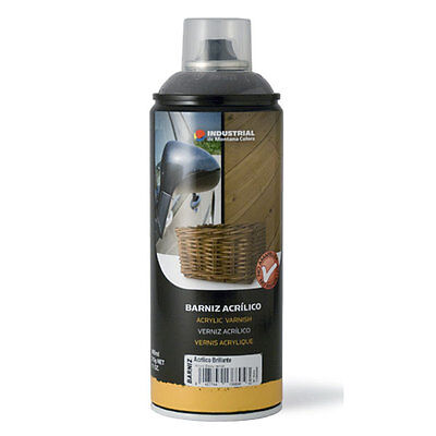 Spray Barniz 400Ml Acrilico Satinado