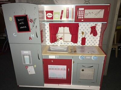 Kids Pretend Play Toy Kitchen Cubby House Rrp$90