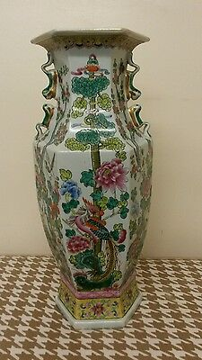 A very large chinese antique porcelain vase, late 19th or early 20th century