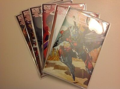 IDW - TRANSFORMERS DRIFT EMPIRE OF STONE #1 - 4 with Variants