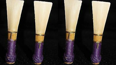 4  bassoon reeds french  handmade by professional musician best quality🎼